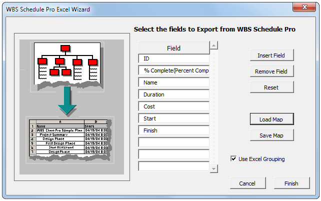 Wbs Schedule Pro Exporting Wbs Schedule Pro Plans To